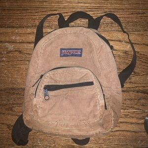 Jansport Vintage Mini Corduroy Backpack